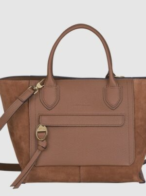 MAILBOX SAC PORTE MAIN M COGNAC / MAROQUINERIE SELECTION ANGERS