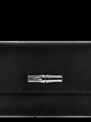 ROSEAU BOX PORTEFEUILLE COMPACT NOIR/MAROQUINERIE SÉLECTION