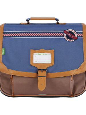 TANN'S Cartable marley bleu selection maroquinerie angers